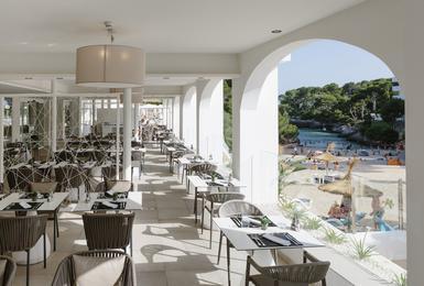 Terrasse AluaSoul Mallorca Resort (Nur Für Erwachsene) Hotel Cala d'Or, Mallorca