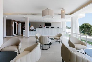 Hotelrezeption AluaSoul Mallorca Resort (Nur Für Erwachsene) Hotel Cala d'Or, Mallorca