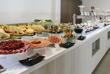 Buffet AluaSoul Mallorca Resort (Nur Für Erwachsene) Hotel Cala d'Or, Mallorca